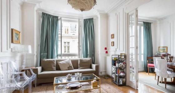 Rue Saint Martin - Living room