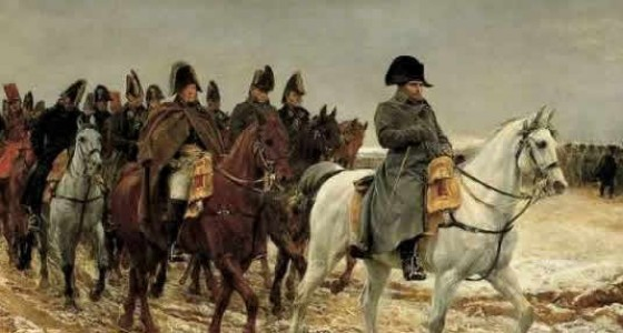 Napoleon - Retreat from Moscow © Ride & Seek